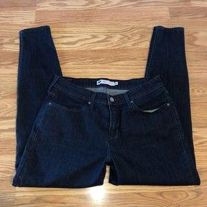 Dark Wash Levi Skinny Jeans